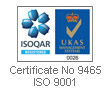 Certificate Number 9465 ISO 9001