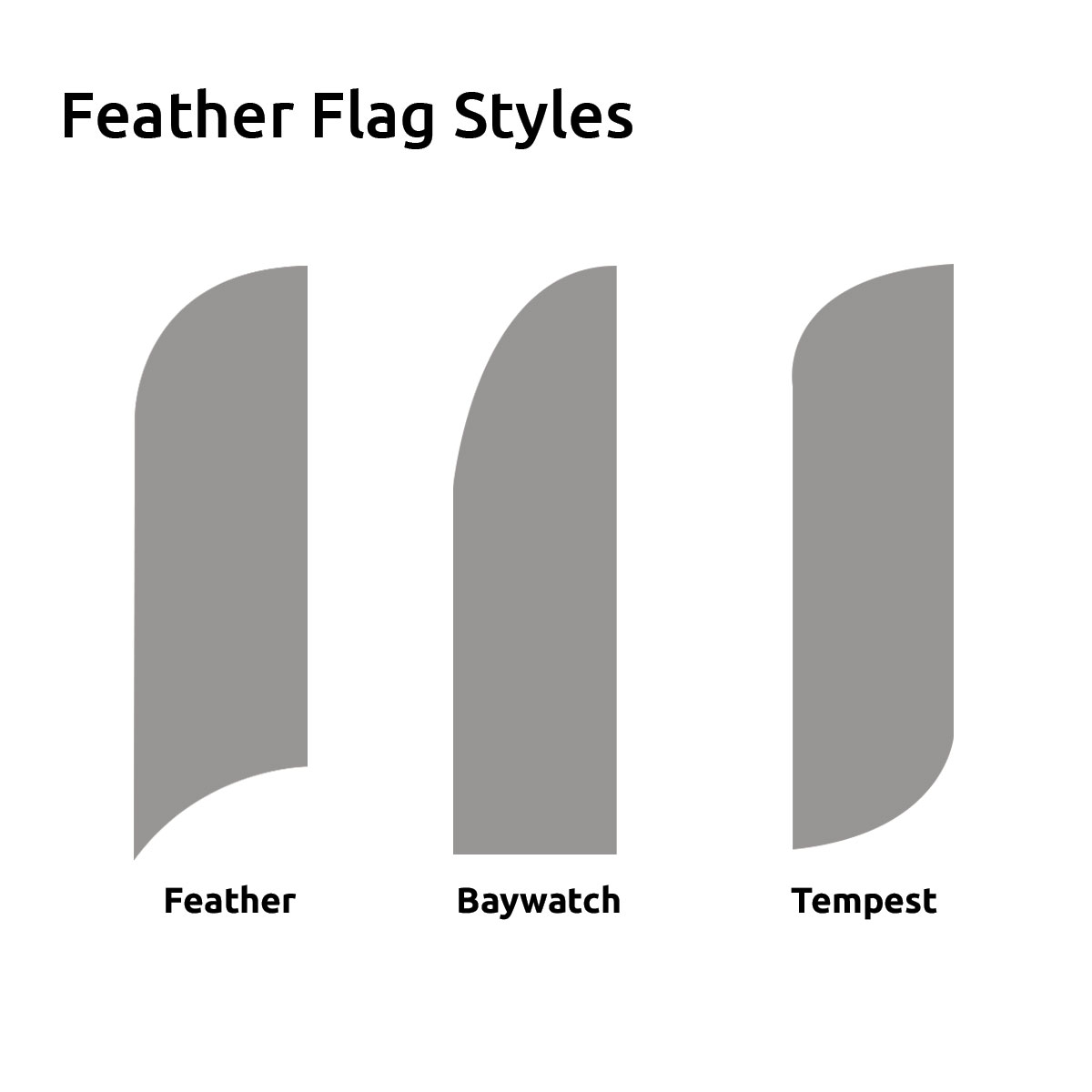 Budget Feather Flags | Discount Feather Flags | Flying Banners