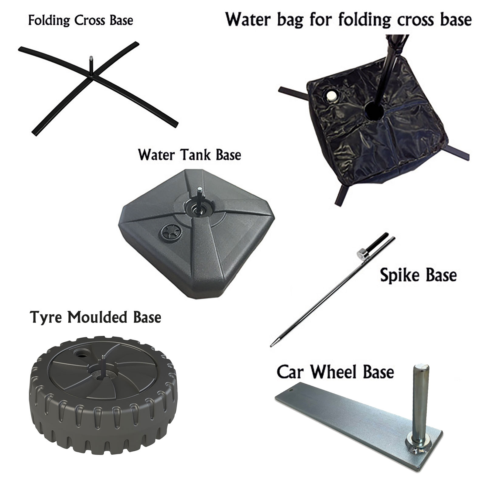 Replacement Poles and Bases for Feather Flags | Feather Flag ...