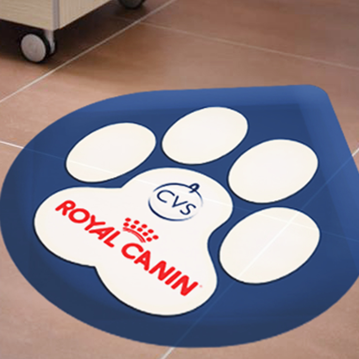 Printed floor graphics floor stickers signage prints for Floor stickers