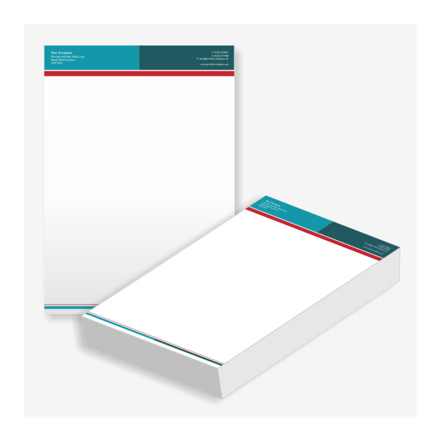 Printed letterheads for companies stationery letterhead printing a4 printed letterheads a4 altavistaventures Images