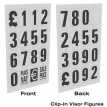 Personalised Clip-In Visor Pricing Displays