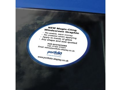 Circular Windscreen Graphics