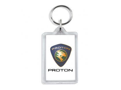 Large Rectangular Acrylic Keyrings