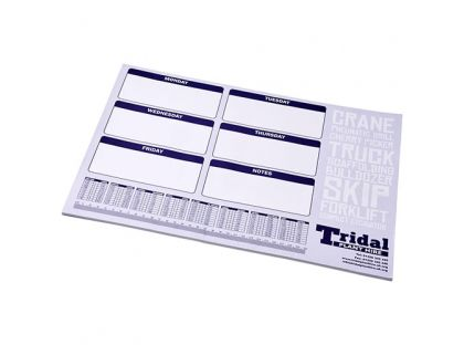 Personalised A2 Desk-Mate® Note Pad