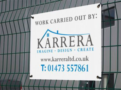 Printed Correx Boards & Signs