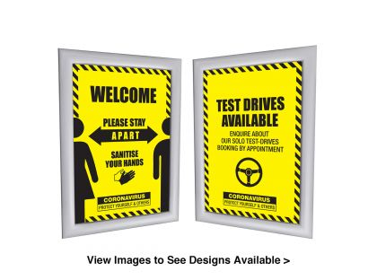 Protective Safety - Printed Posters