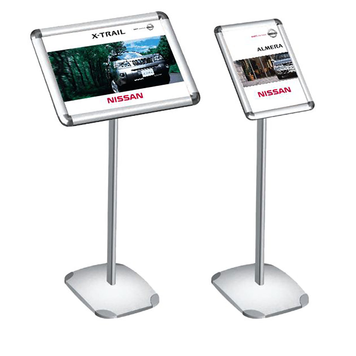 Spec card stands for car showrooms and dealerships for Stand auto