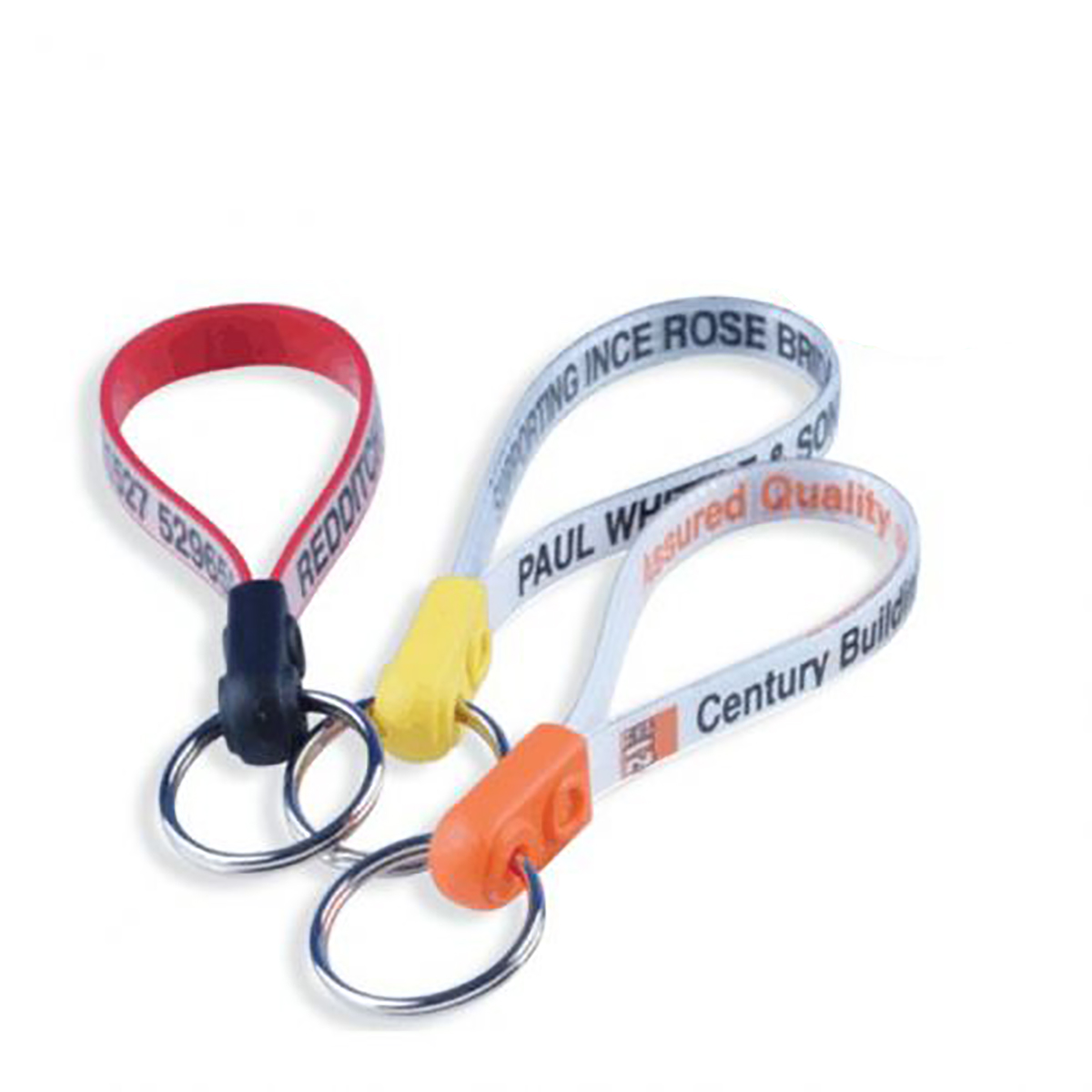 Plastic Loop Keyrings