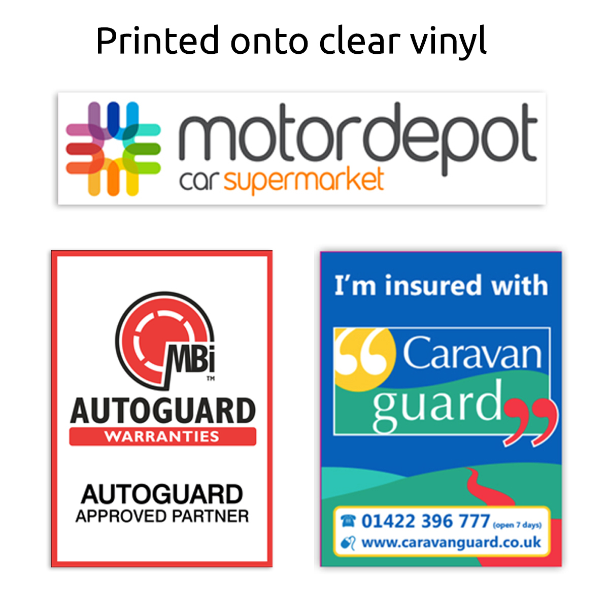 Car Window Stickers Printed Car Stickers Promotional Window