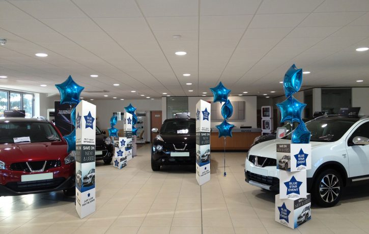 Car Showroom Event Graphics - Point of Sale