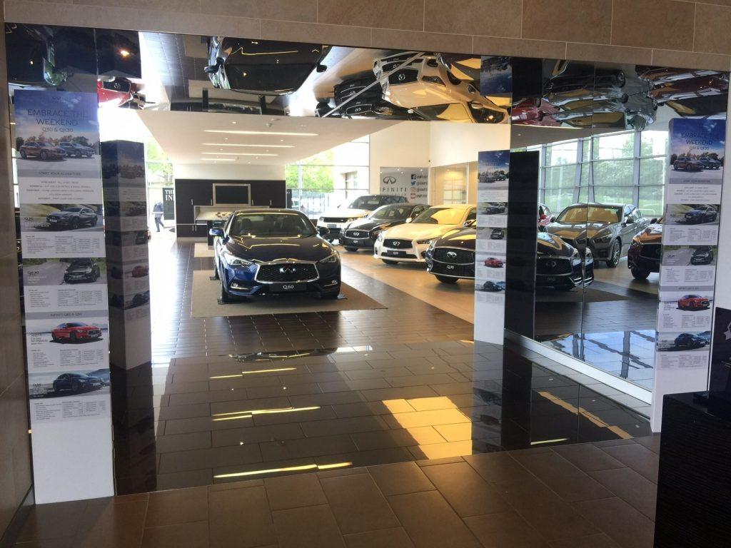 Car Showroom Standees