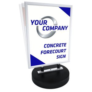 Concrete Based Waterproof Forecourt Signs