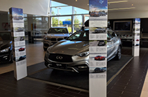 Car Showroom Stands