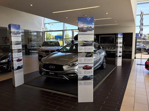 Car Showroom Event Graphics